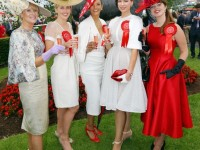 Claire Makes Final Of €20,000 Most Stylish Lady Compeition At The Derby