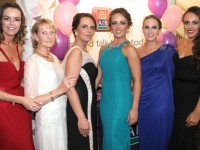Amanda Jones, Rita Fitzgibbon, Edel Lawlor, Clodagh O'Sullivan, Stacey Scannell and Brogan O'Sullivan  at the Connect Kerry Lee Strand Women in Business Awards at the Ballyroe Heights Hotel on Friday night. Photo by Dermot Crean