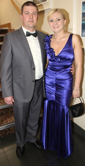 Dariusz and Aurelia Gorczyk at the Connect Kerry Lee Strand Women in Business Awards at the Ballyroe Heights Hotel on Friday night. Photo by Dermot Crean