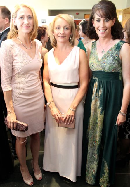 Helen Burns, Lisa Geaney and Mags O'Sullivan at the Connect Kerry Lee Strand Women in Business Awards at the Ballyroe Heights Hotel on Friday night. Photo by Dermot Crean