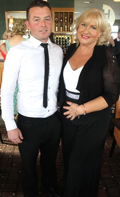 Brian and Marie Baker at the Connect Kerry Lee Strand Women in Business Awards at the Ballyroe Heights Hotel on Friday night. Photo by Dermot Crean