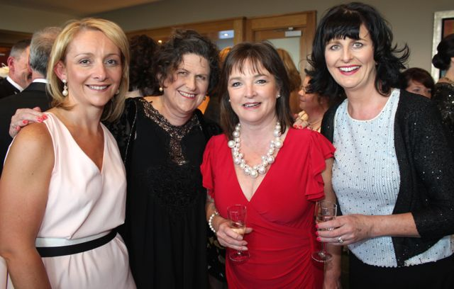 Lisa Geaney, Alison Groves, Caroline Boland and Cora Foley at the Connect Kerry Lee Strand Women in Business Awards at the Ballyroe Heights Hotel on Friday night. Photo by Dermot Crean