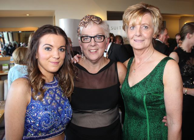 Christine and Shirley and Anne Fehan at the Connect Kerry Lee Strand Women in Business Awards at the Ballyroe Heights Hotel on Friday night. Photo by Dermot Crean