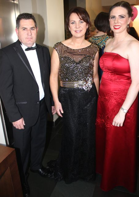 John and Liz Maher and Susan Hayes Culleton at the Connect Kerry Lee Strand Women in Business Awards at the Ballyroe Heights Hotel on Friday night. Photo by Dermot Crean