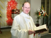 Fr. Padraig Walsh PP. celebrated his Silver Jubilee on Saturday evening with Mass at 'Our Lady and St. Brendan's Church. Photo: John Cleary.