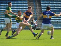 Barry John Keane scoring his goal against Tipperary in the Munster SFC sem-final.. Photo Dermot Crean.