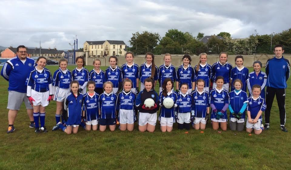 Kerins O'Rahillys U12 Girls who recently won their Co League Game v Currow.