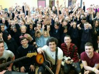 O'Brennan NS Pupils Rock Out At Fundraising Day