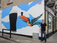 This Guinness-Themed Mural In Boherbee Is Going Down Well
