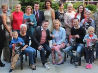 Contestants and organisers of The Voice of Tralee 2015 in aid of Recovery Haven. Photo by Gavin O'Connor.