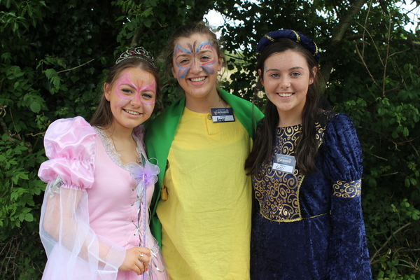 At the Kilflynn Enchanted Fairy Festival were, from left: Cara Quinlan, Aime Lynch and Roisin Stack. Photo by Gavin O'Connor.