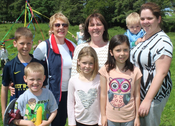 At the Kilflynn Enchanted Fairy Festival were, from left, front: Sean Fleming, Clionagh and Saoirse Sweeney. Back: Michael Sweeney, Carmel O'Connor, Elizabeth Sweeny, Colm and Maureen Fleming. Photo by Gavin O'Connor.
