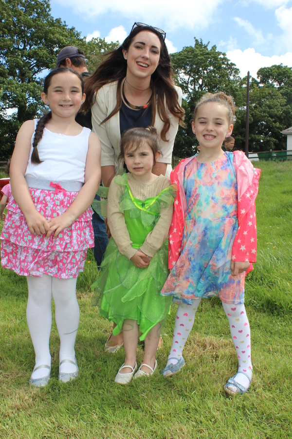 At the Kilflynn Enchanted Fairy Festival were, from left: Evie Lynch, Amelie and Laura Russell and Alana Doody. Photo by Gavin O'Connor.