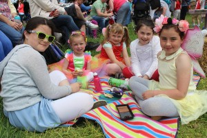 At the Kilflynn Enchanted Fairy Festival were, from left: Ciara Fitzgerald, Gemma Courtney, Siobhan Leahy, Emer Fitzgerald and Faye Courtney. Photo by Gavin O'Connor.
