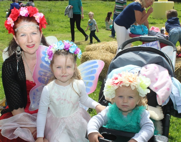 At the Kilflynn Enchanted Fairy Festival were, from left: Beth, Sophie and Jessica Quirke. Photo by Gavin O'Connor.