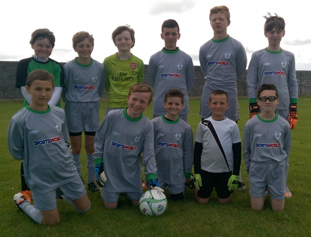 Kids who took part in the FAI Summer Camp in Mounthawk Park, during the week. Photo by Gavin O'Connor.