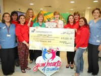 'Glowhearts' Mums Present €18,000 To Crumlin Hospital And Ronald McDonald House