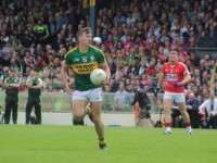 James O'Donoghue, on the ball in the drawn Munster Final. Photo by Gavin O'Connor.