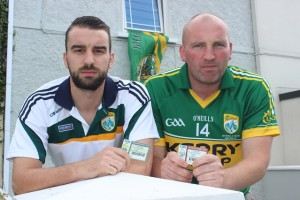 Kerry season ticket holders, David and Seamus Walsh. Photo by Gavin O'Connor.