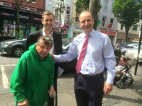 Fianna Fáil Leader Meets The Public On Tralee Walkabout