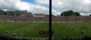 The view from the main stand in Fitzgerald Stadium on Sunday. Photo by Gavin O'Connor.