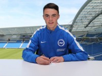 Rian O'Sullivan signing a three year deal at Brighton and Hove Albion.