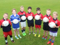 Kerins O'Rahilly's players at the club's Cul Camp in Strand Road. Photo by Gavin O'Connor.