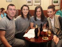 At the Shanakill Resource Centre quiz night were, from left: Vincent Dennehy, Niamh O'Carrol, Jennifer O'Carroll and Eimer Campbell. Photo by Gavin O'Connor.