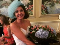 Lady Wearing Tralee Milliner's Creation Wins A Top Prize At Dublin Horse Show
