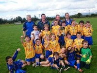 Ballymac Under 11 team and mentors.