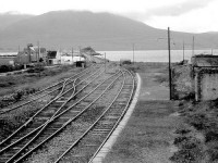 The old railway tracks in Fenit.