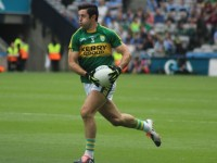 Aidan O'Mahony, bursts out from the back