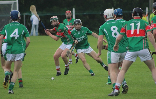 Action from the match on Tuesday night. Photo by Gavin O'Connor