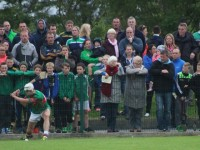 Some of the crowd watching the action at the the match on Tuesday night. Photo by Gavin O'Connor