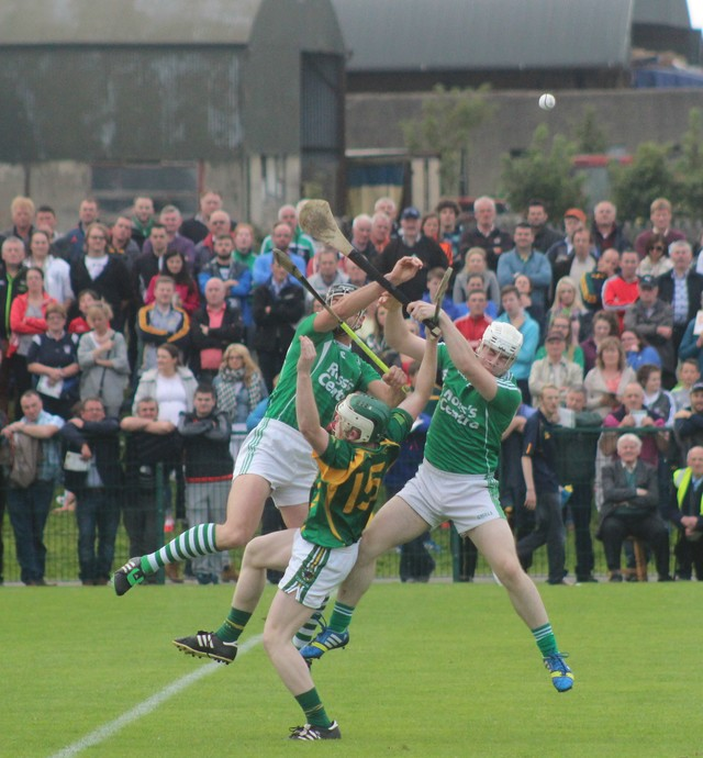 Action from Kilmoyley v Ballyduff. Photo by Gavin O'Connor.