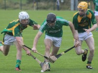 Action from Kilmoyley v Ballyduff in 2015. Photo by Gavin O'Connor.