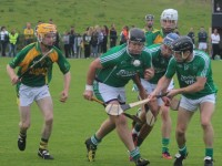 Ballyduff's, Adrian Boyle, about to grab possession. Photo by Gavin O'Connor.