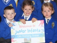 PHOTOS: Junior Infants Enjoy First Day At CBS Primary School