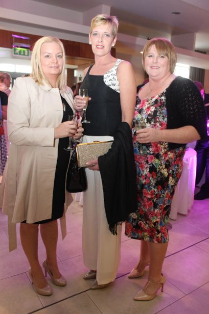 Breda Mulvihill, Lisselton, Mary Houlihan, Listowel and Margaret Barry, Lisselton, at the Fashion Soiree in the Manor West Hotel on Friday night. Photo by Dermot Crean