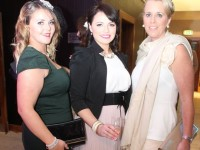 at the Fashion Soiree in the Manor West Hotel on Friday night. Photo by Dermot Crean