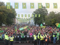 PHOTOS: Kerry Teams Welcomed Home In Tralee
