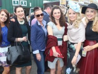 enjoying Ladies Day at Listowel Races on Friday. Photo by Dermot Crean