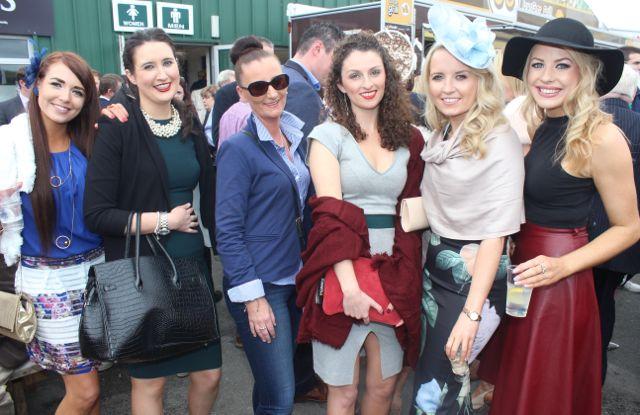 enjoying Ladies Day at Listowel Races on Friday. Photo by Dermot Crean