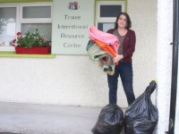 Maria Looks For Donations As Part Of Kerry Campaign To Help Refugees In Greece