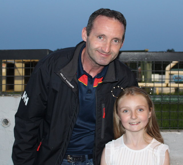 Michael and Aoife Ross enjoy the Mitchels GAA Club night at the dogs on Saturday night. Photo by Fergus Dennehy.