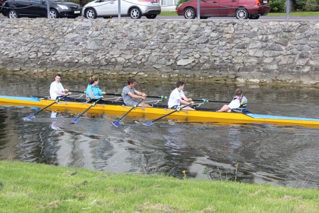 Rowers at the Tralee Rowing Club Open Day on Sunday. Photo by Dermot Crean