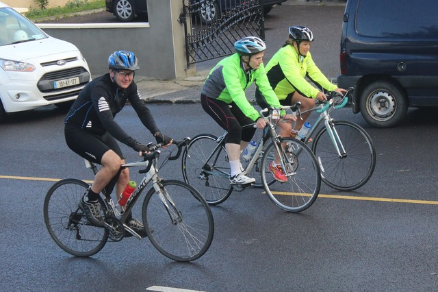 Cyclists taking part in the Ardfert Harvest Cycle. Photo by Gavin O'Connor.