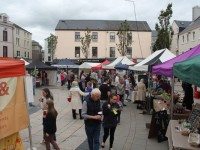 The Square was filled with artisan treats. Photo by Gavin O'Connor.