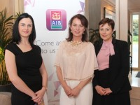 At the Kerry Buisness Women's Network Open Night on in the Ballygarry Hotel were, from left: Helena McElligott (AIB), Liz Maher (Kerry Business Women's Network) and Siobhan Barrett (AIB). Photo by Gavin O'Connor.