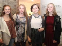At the Light Opera Society of Tralee  production of 'Les Miserables' in the Siamsa Tire were, from left: Grainne Sheehan, Olivia Moriarty, Roxanna Mucaj and Julie O'Grady. Photo by Gavin O'Connor.